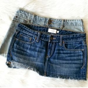 Abercrombie Fitch Distressed Mini 4